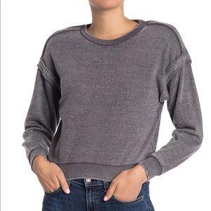 Vintage Havana Reverse Seam Knit Sweatshirt